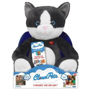 CloudPets 12in Talking Kitty- The Adorable, Huggable Pet To Keep In Touch Through The Cloud, Recordable Stuffed Animal