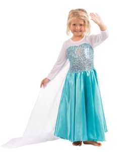 Butterfly Craze Girls Snow Queen Costume Snow Princess Dress