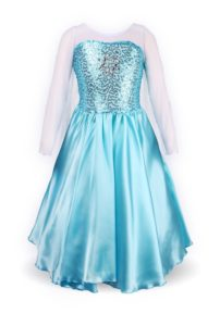 ReliBeauty Girls' Princess Elsa Fancy Dress Costume